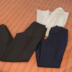 theory slacks bundle size 0